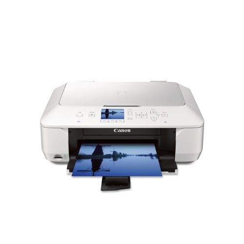 Canon MG6420 Wireless Color Photo Printer with - White (Discontinued by Manufacturer)