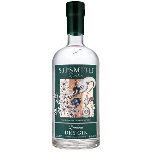 5. Sipsmith London Dry Gin Ginebra, 41.6%, 700ml