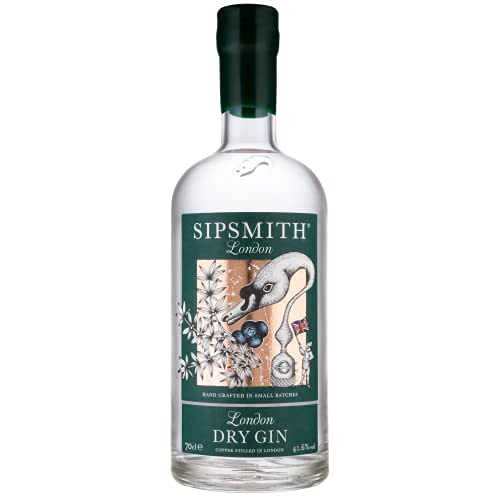 Sipsmith London Dry Gin Ginebra, 41.6%,...