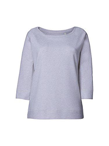 Maratus Damen Sweatshirt mit weitem Halsausschnitt | Frauen Langarmshirt L/Light Heath