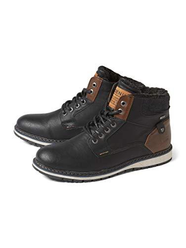 TOM TAILOR Herren 5885302 Klassische Stiefel, Schwarz (Black 00001), 42 EU