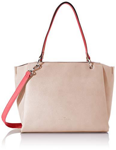 TOM TAILOR Shopper Damen, Rosa, Alassio, 36x8x24,5 cm, Handtasche groß, Umhängetasche