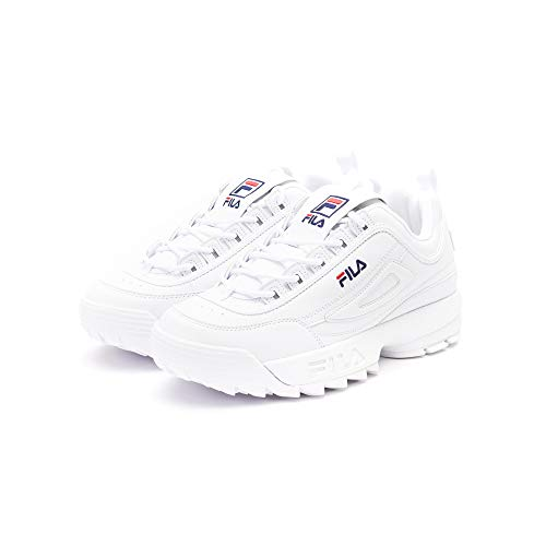 Fila Herren Disruptor Low Sneaker, Weiß (White 1fg), 45 EU