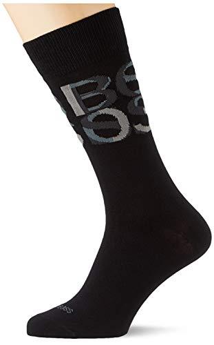 BOSS Herren RS VB Klassische Socken, Black1, 43-46