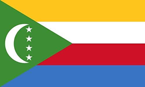 Générique Drapeau National des Comores / 100% Polyester / 150 X 90 CM