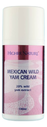 Higher Nature 100ml Wild Yam Cream