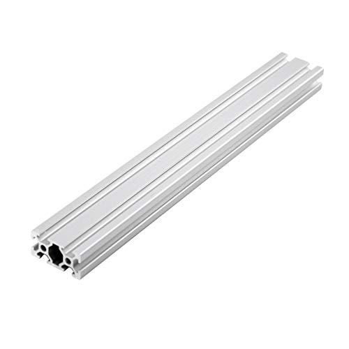 Staffa staffa Parti della stampante 3D CNC 2040 Profilo di alluminio Standard Guida lineare ESTRUSIONE DI ALLUMINIO 2040 per arredamento del cursore della fotocamera Installazione semplice e durevole