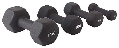 manubri palestra 8 kg x2 Shengluu Manubri Palestra Mini Dumbbells Hex per Le Donne Uomo per la casa Attrezzatura per Allenamento Fitness (Colore : 8kg X2)