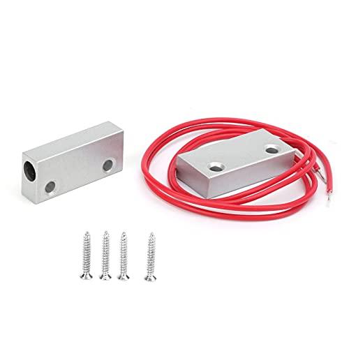 Sensor magnético, Sistema de Alarma para el hogar Alarma magnética Aspecto Elegante Contacto de Puerta para la Seguridad del hogar Alarma antirrobo