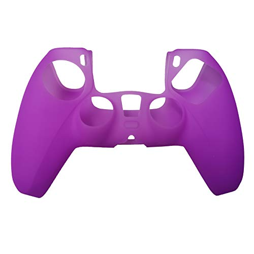 Photo of FangWWW Colourful Soft Silicone Protective Case Skin Compatible with Sony Playstation 5 PS5 Controller Gamepad Accessories