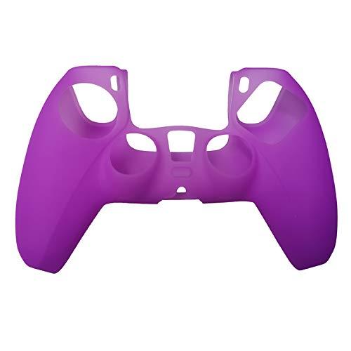 ciriQQ - Funda protectora de silicona para consola PlayStation 5 de PlayStation 5, para mando inalámbrico DualSense PlayStation 5