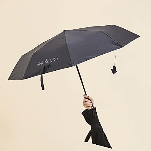 Paraguas plegable Impermeable Anti-UV A prueba de viento Sombrilla Paraguas recto automático portátil Paraguas de golf antideslizante Material de poliéster Soporte de paraguas resistente y duradero