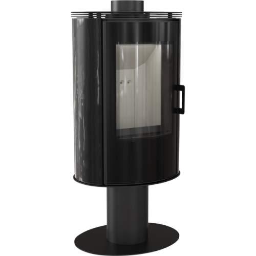 Kaminofen Kratki KOZA AB S/N/O Glas Kachel Kamin Ofen 8 kW