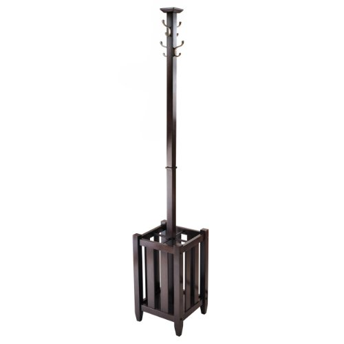 Winsome Memphis Coat Tree Hanger and Umbrella Rack