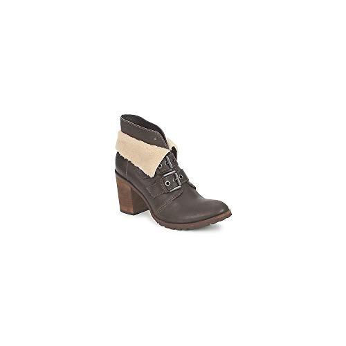 Un Matin DEte Briac Enkellaarzen/Low Boots Dames Ebony - 40 - Enkellaarzen Shoes