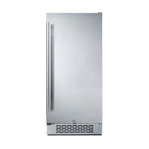 Avallon AFR151SSRH 3.3 Cu Ft 15' Built-In Refrigerator - Right Hinge