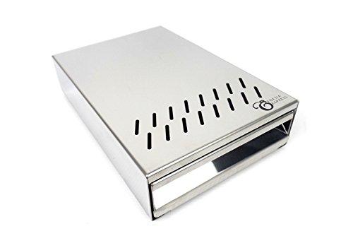Sudschublade Abklopfbehälter Abschlagkasten Knockbox für Gastroback Advanced Pro 42639 Kaffeemühle - 160 x 240 x 55 mm