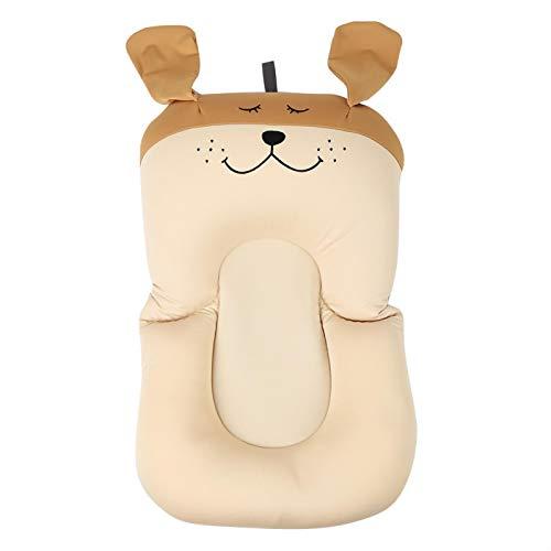 Cojín flotante para bebés, fuerte fluidez segura insípido almohada flotante cómoda, para(brown, Puppy without hook)
