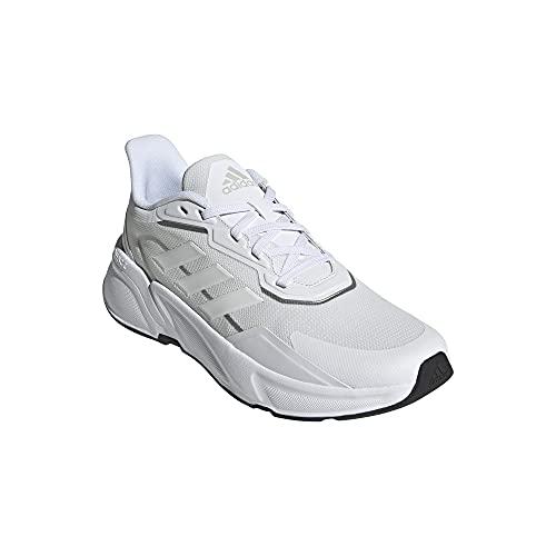 adidas X9000L1, Zapatillas de Running Hombre, FTWBLA/FTWBLA/Plamat, 44 2/3 EU