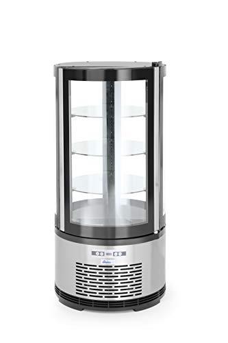 HENDI Expositor redondo para repostería (100 litros) - 100 L - 230V / 210W - 2/6˚C - ø480x(H)1030 mm