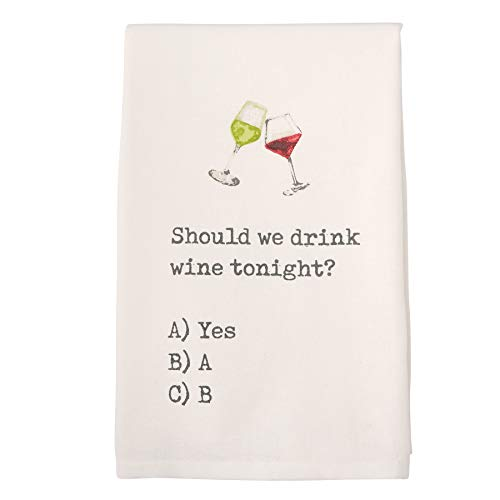 Top 10 Best Selling List for kitchen towels with wine sayings