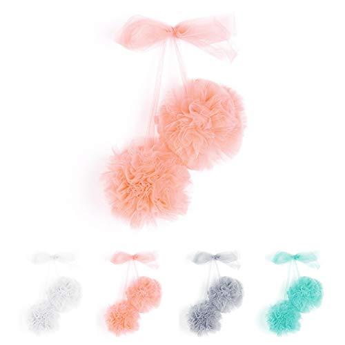 Matedepreso Colgante de bola de gasa de la habitación del bebé guirnalda bola mosquitero colgar decoraciones moda accesorios de boda