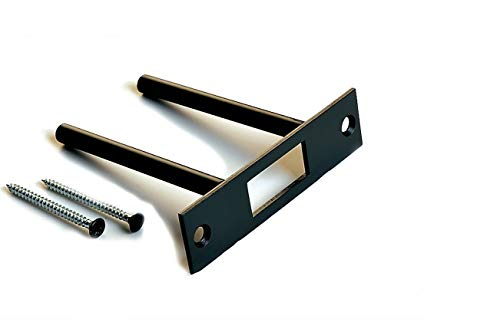 Door Reinforcement | Deadbolt Strike Plate Reinforcer | Anti Kick Door | Two Post Strike Plate | TUFF STRIKE | Oil Rubbed Bronze