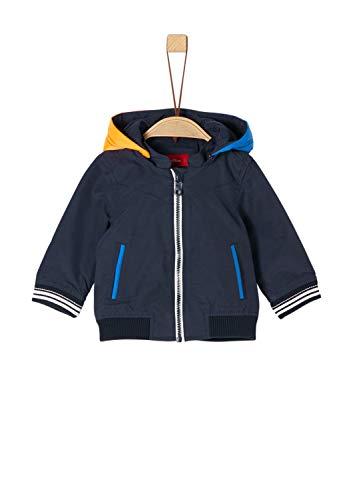 s.Oliver RED LABEL Junior Unisex - Baby Jacke im Bomber-Style dark blue 86