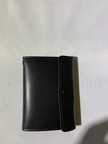 NYPD LIEUTENANT OR CORRECTION OFFICER BADGE CUT OUT AND ID SNAP WALLET