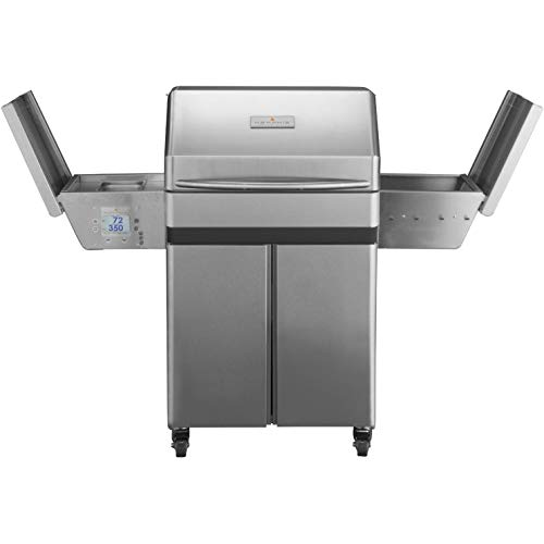 Memphis Wood Fire Grills Pro Cart w/WiFi - 430 SS Alloy