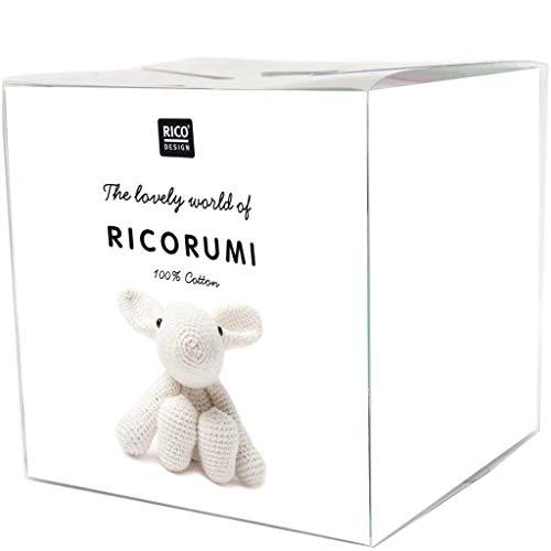 Rico Design Häkelset Ricorumi Puppies Hase - zum Stricken und Basteln - ideal für Kinder & Erwachsene - DIY