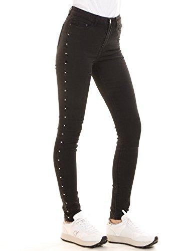 Pantalon negro elástico VIJUNAS de Vila Clothes (27 - Negro) (Ropa)