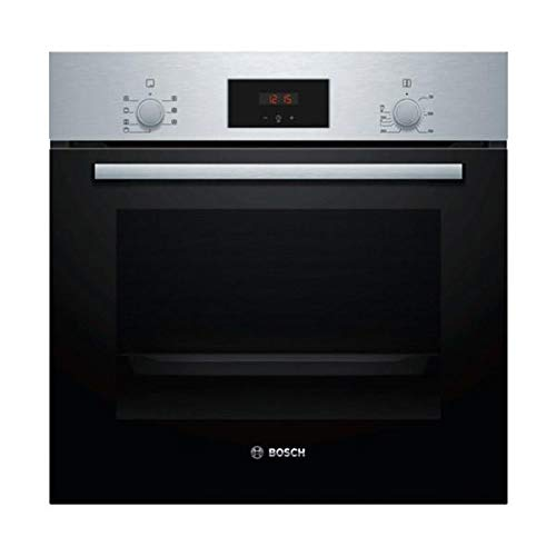Bosch HBF113ES0 - Horno (Medio, Horno eléctrico, 66 L, 66 L, Negro, Acero inoxidable, Giratorio, Tocar)