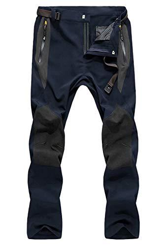 MAGCOMSEN Mens Snow Pants Ski Pants Winter Pants Hiking Pants Mens Waterproof Pants Lightweight Pants Climbing Pants Camping Pants Work Pants for Men