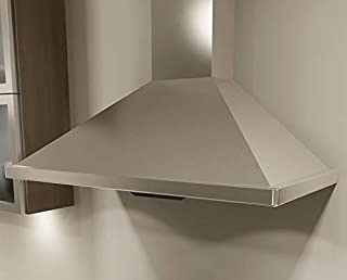 Miseno MH00130CS 240-750 CFM 30 Inch Stainless Steel Wall Mounted Range Hood with Dual Halogen Lighting System