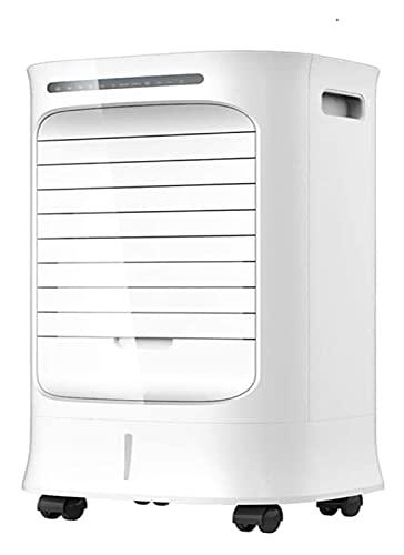 GYF Aire Acondicionado portátil, Humedad de refrigeración Hogar Control Remoto Refrigerador de Aire, Blanco