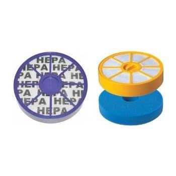 Juego de filtros HEPA para aspiradora Dyson DC05 DC08 DC08T DC08TW – Filtro HEPA contiene: Repuesto para