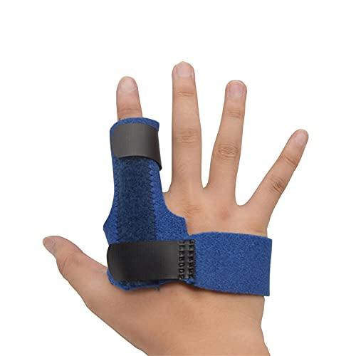 ZZBB Férulas para Los Dedos Protector Ortesis para Los Dedos Diapasón De Mano Férula Dinámica para Los Dedos Trabajador Informático Soporte para Los Dedos Artritis Dolor,