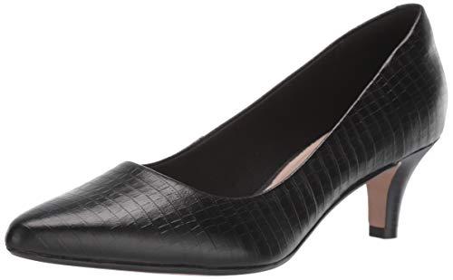 Clarks Women's Linvale Jerica Shoe, Dark Red Suede, 60 W US