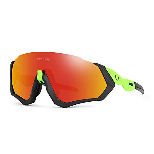 Gafas de sol deportivas gafas polarizadas gafas de bicicleta de montaña corriendo