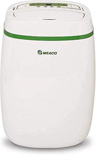 Meaco 12L Deumidificatore Platinum a Basso consumo energetico, 165 W, 240 V, Blanc Avec Bordure Verte