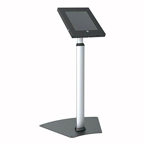 Pyle B00G1OTU82 Manipulationsfreie Kiosk Öffentliches Bodenstativ/Halter/Public Display-Gehäuse mit einstellbarer Höhe/Kabel-Management für Apple iPad 2/3/4/Air