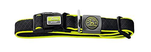 HUNTER MAUI VARIO BASIC Hundehalsung, Hundehalsband, Mesh-Material, weich, leicht, robust, M-L, schwarz