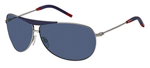 Tommy Hilfiger Gafas de Sol TH 1796/S Ruthenium/Blue 69/9/130 hombre