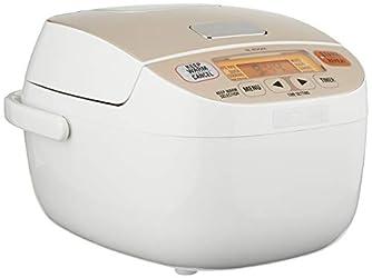 ZOJIRUSHI Rice Cooker, White, 0.5L, (NL-BGQ05)