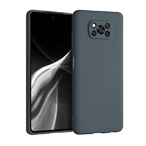 kwmobile Hülle kompatibel mit Xiaomi Poco X3 NFC/Poco X3 Pro - Hülle Handyhülle - Handy Hülle in Slate Gray