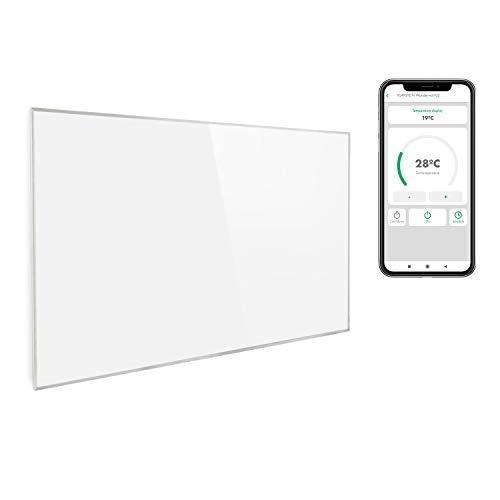 Klarstein Wonderwall Smart - Infrarot-Heizung - Wandheizung, Heizgerät, WiFi, Thermostat, Wochentimer,...