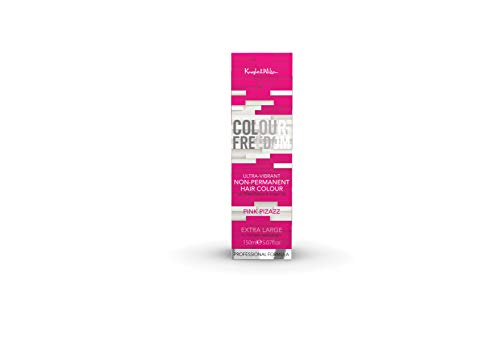 Knight & Wilson Colour Freedom Ultra-Vibrant Pink Pizazz Non-Permanent Hair...