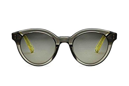 Mini Auténtica Unisex Redondo Pantos Marco UVA UVB protección Gafas de Sol 80252445727