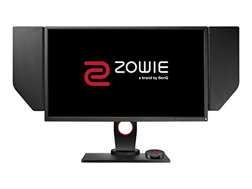 BenQ Zowie 24.5 inch 240Hz Esports Gaming Monitor, DyAc, 1080p, 1ms Response Time, Black Equalizer, Color Vibrance, S-Switch, Shield, Height Adjustable (XL2546) (Renewed)
